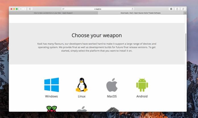 Install Kodi for Mac - Install 2