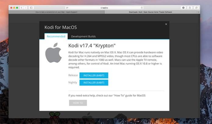 Install Kodi for Mac - Install 3
