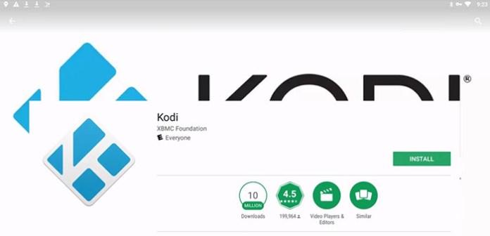 Install Kodi on Chromebook - Install 4