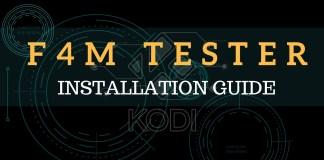 F4M Tester Kodi Addon
