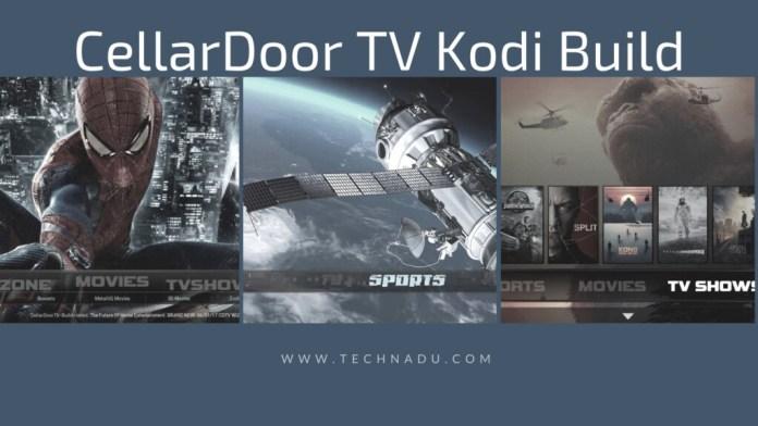 CellarDoor TV Kodi Build