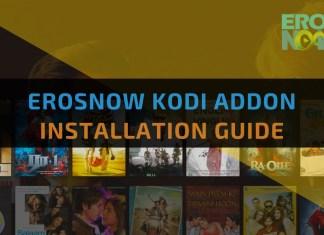 ErosNow Kodi Addon - Feature Image