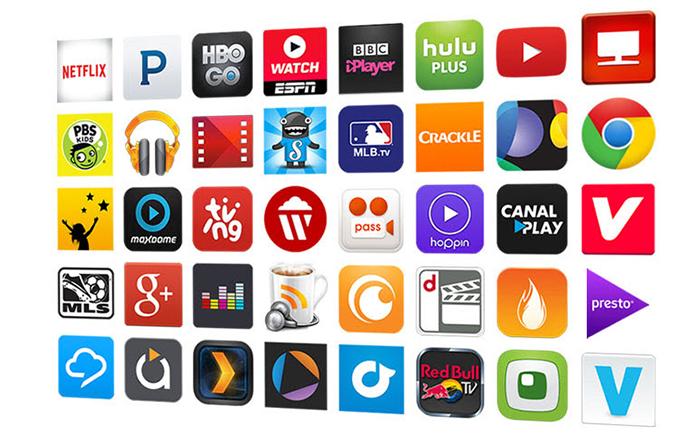 Resultado de imagem para google chromecast apps