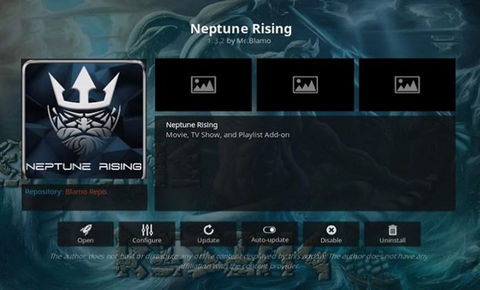 Neptune Rising Indian Kodi Addon