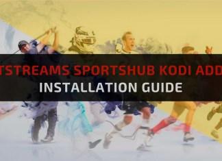 NetStreams SportsHub Kodi addon-Feature Image