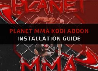 Planet MMA Kodi Addon-Feature Image