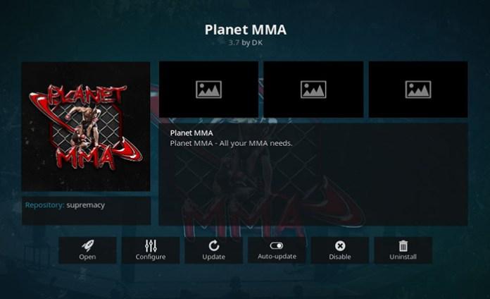 Planet MMA UFC Addon