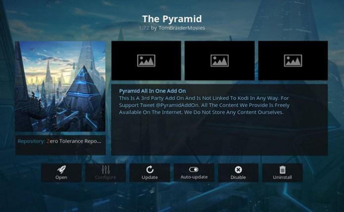 The Pyramid Super Bowl Kodi Addon