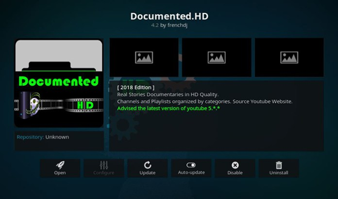 Documented HD