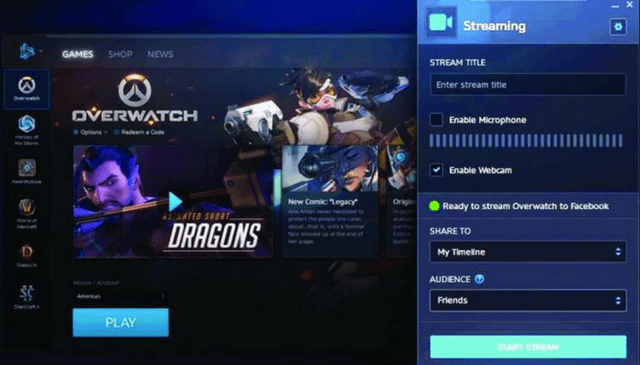 Facebook starts direct PC-game streaming and spectator in-game rewards
