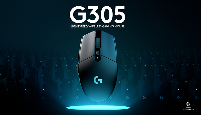 Logitech G305 wireless gaming mouse is 'faster than wired' for $60