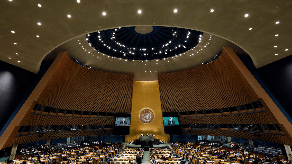 You can train an AI to fake UN speeches in just 13 hours