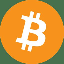 Bitcoin crypto-currency logo