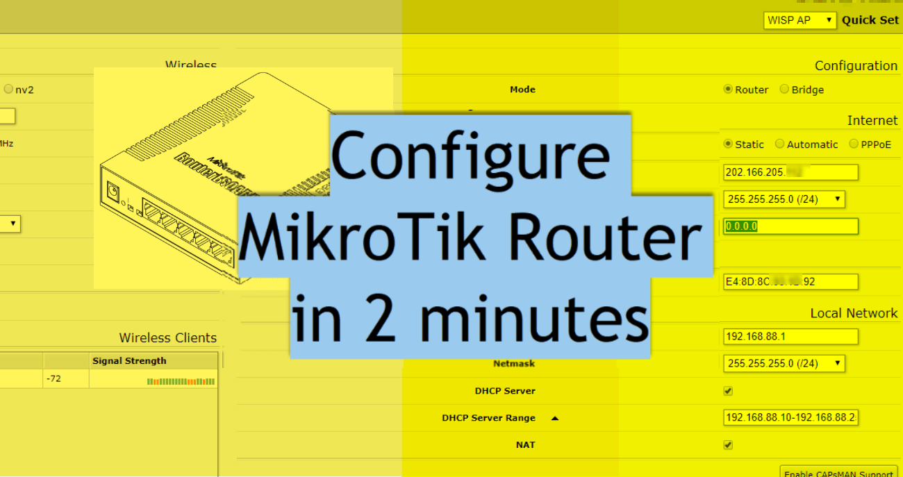 Mikrotik Configuration