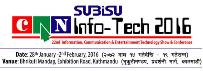 Subisu CAN Info-tech 2016 Nepal