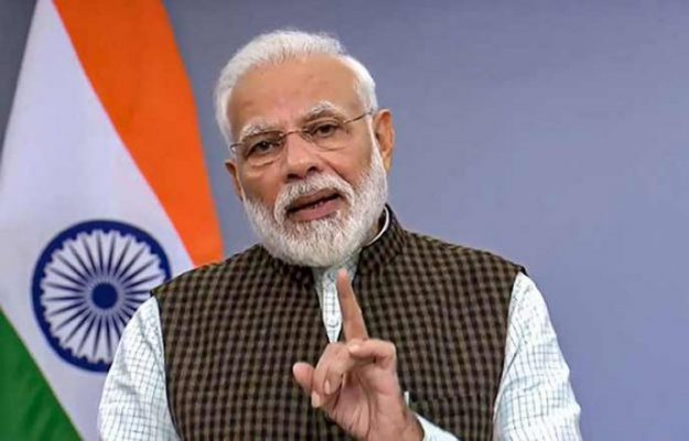 PM Modi to address nation on Tuesday at 10 a.m