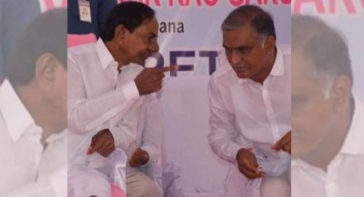 KCR Praises Harish Rao And Siddipeta
