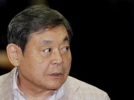 Morre presidente e criador da Samsung