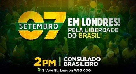 Bolsonaro mostra sua força pelo mundo e terá atos de apoio na Europa em 7 de setembro
