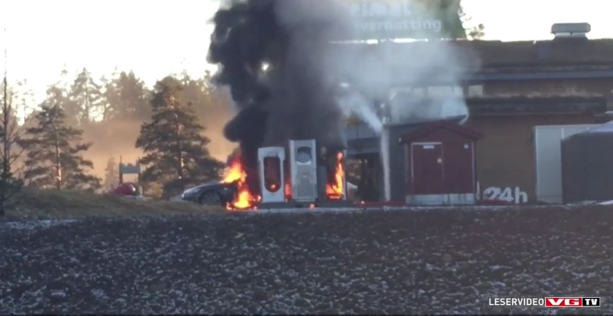 Tesla Identifies Cause For Model S Fire In Norway
