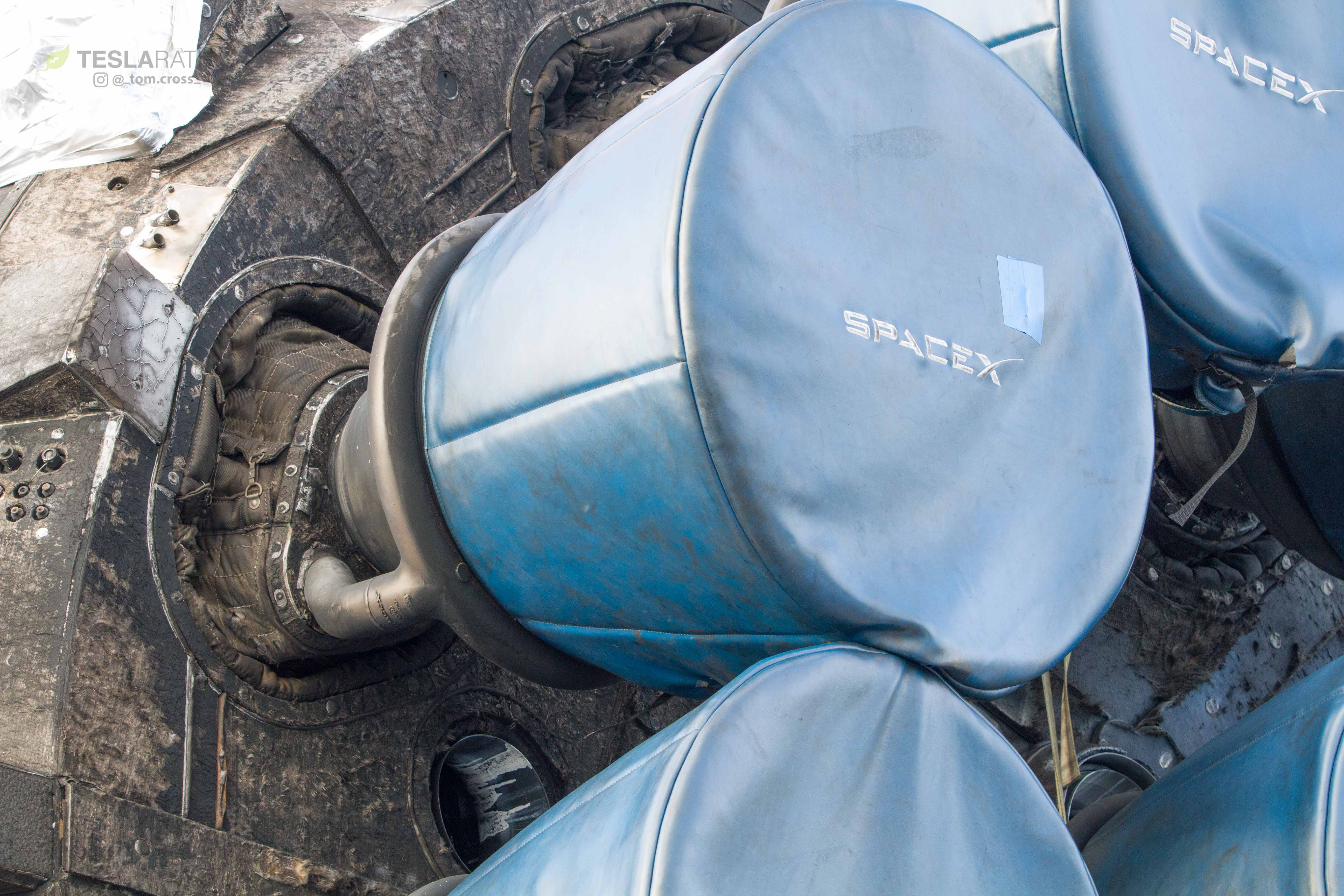 SpaceXs Used Falcon Heavy Booster Shown Off In Stunning