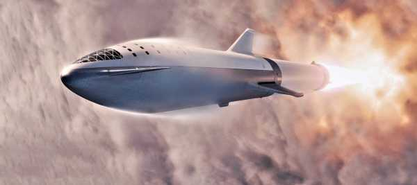 SpaceX confirms initial BFR spaceship flight tests will ...