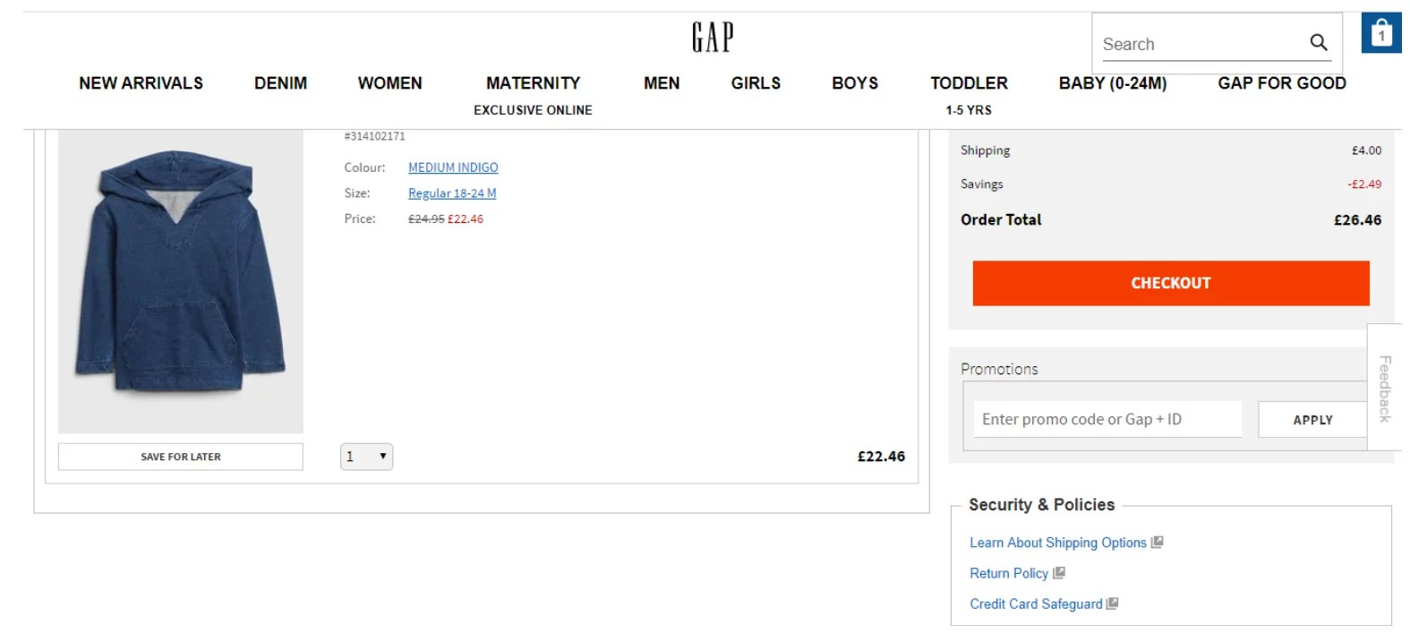 gap discount codes 5 off in february