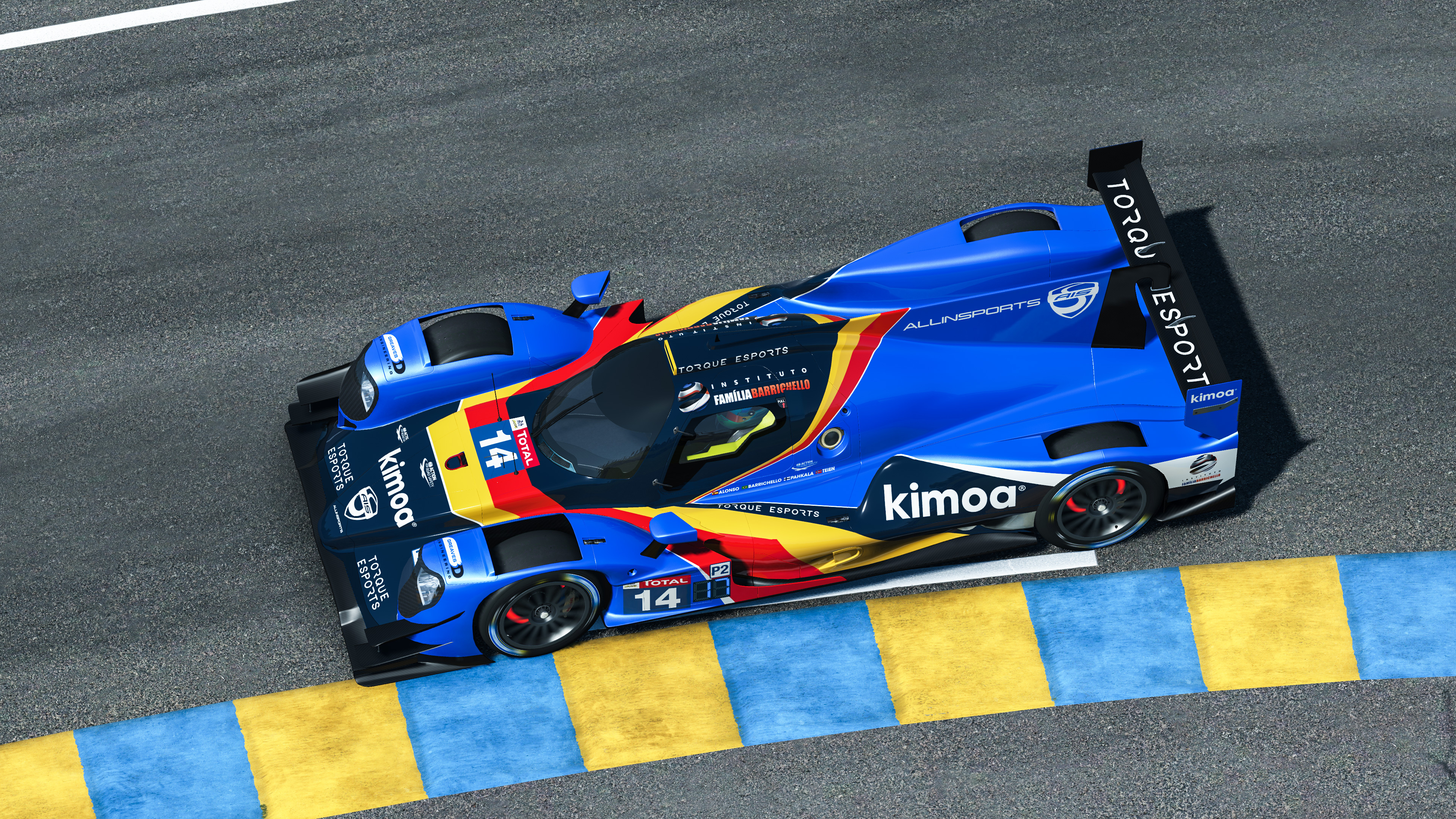 rFactor boss responds to Alonso and Verstappen issues at Virtual Le Mans