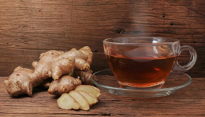 Ginger reduces chronic inflammation and soothes the gut at the same time.