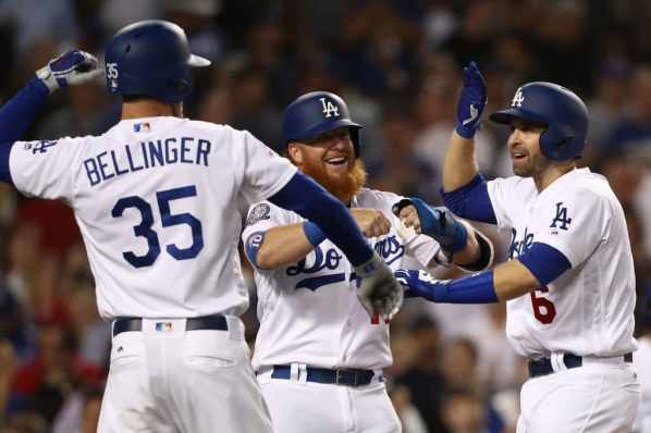 In romp over the Brewers, the deep Dodgers lineup flexes its ...