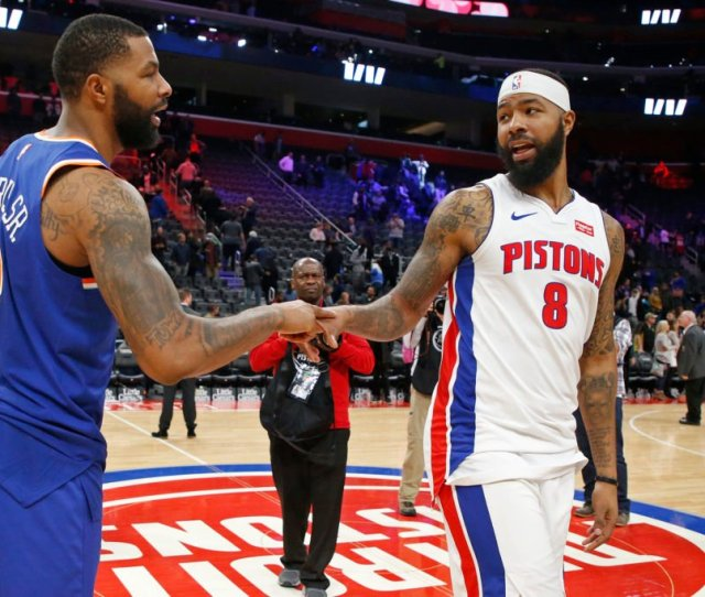 Pop Quiz The Pistons Markieff Morris Tries To Answer Random