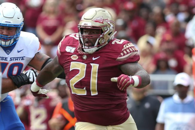 Staples: Florida State's Marvin Wilson shows how to turn words into swift  action – The Athletic