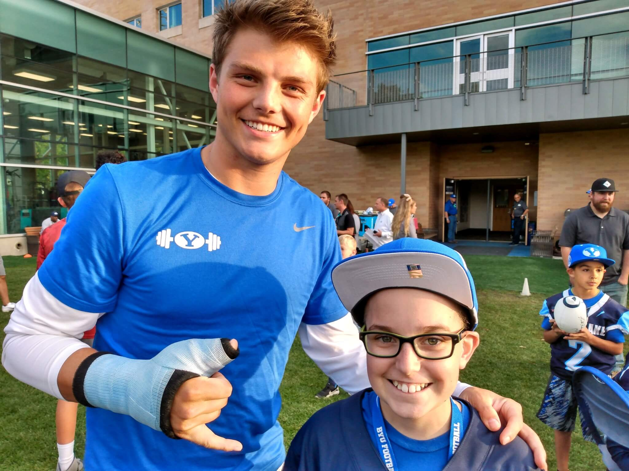 Byu's zach wilson recapped the rehab. Zach Wilson Prom / Unnecessary Roughness Youtube