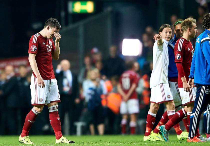 hojbjerg serbia tears denmark