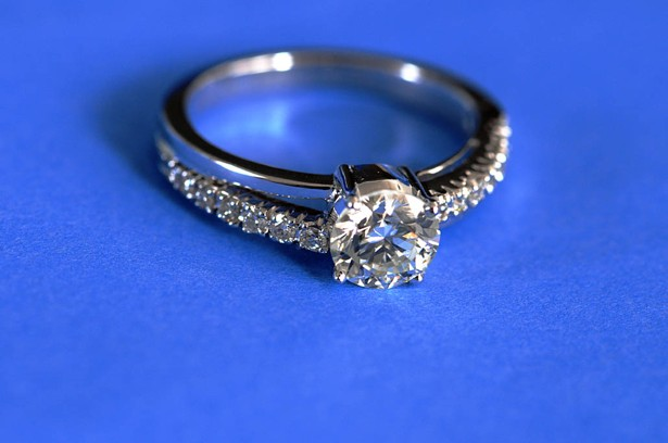 How An Ad Campaign Invented The Diamond Engagement Ring