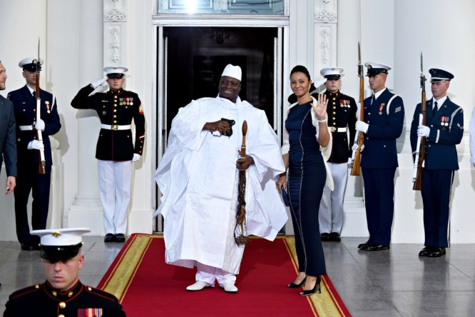 Image result for President of The Gambia, Yahya Jammeh
