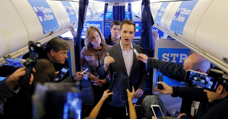 Robby Mook and Corey Lewandowski: A Bromance That Was Not ...