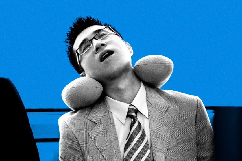 Travel pillows for airplanes