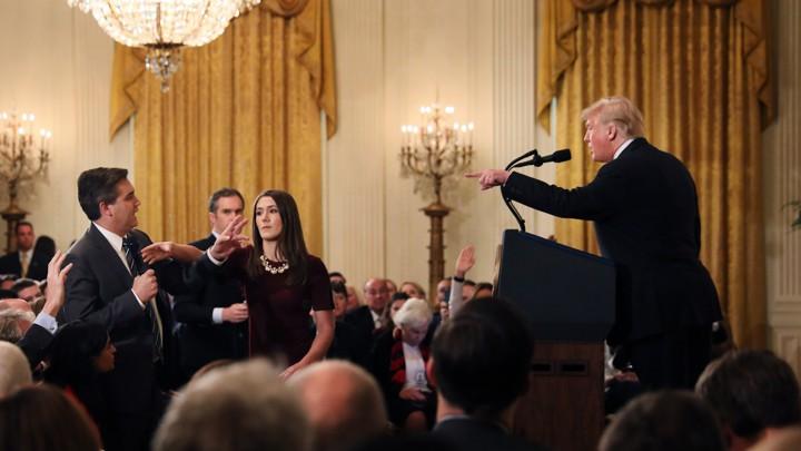 Trump Attacks Jim Acosta, and More, in Press Conference ...