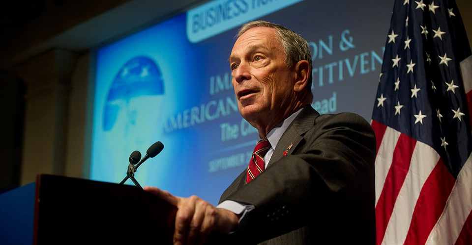 Bloomberg Joins New Front in Climate Battle - The Atlantic