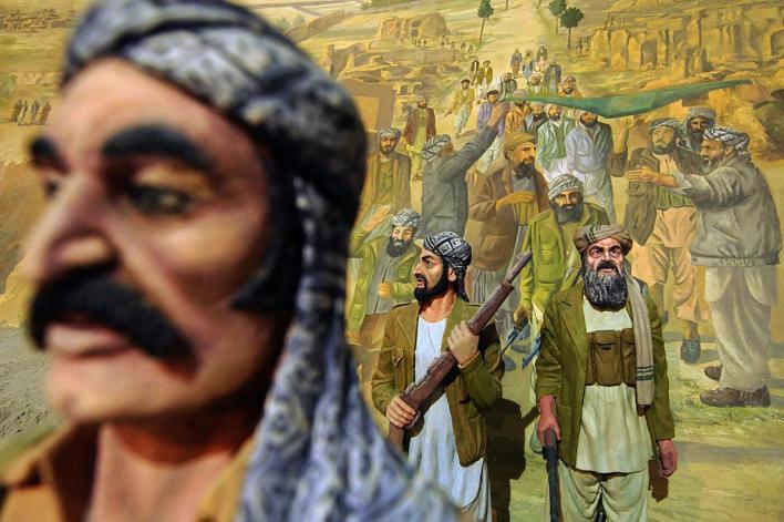 په هرات کې د روس په خلاف د جهاد میوزیم - انځورونه