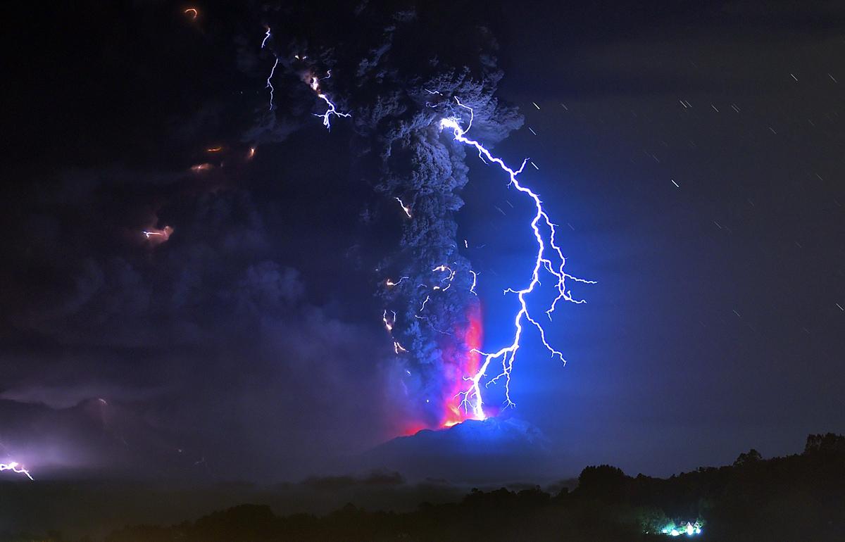 The Eruption Of Chile S Calbuco Volcano