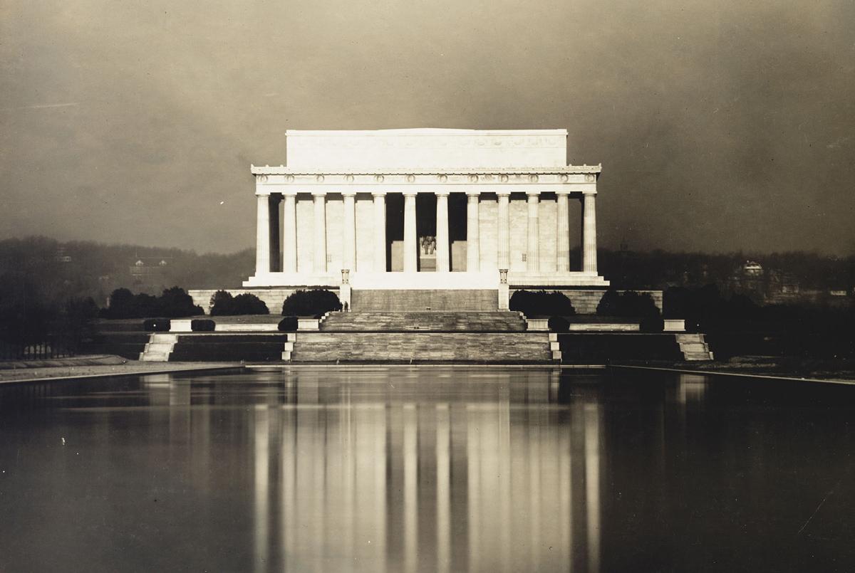 Historic Photos Of The Lincoln Memorial