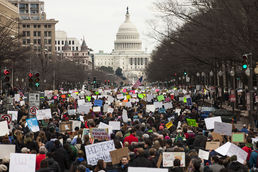 A Weekend Of Protest Against Trumps Immigration Ban The