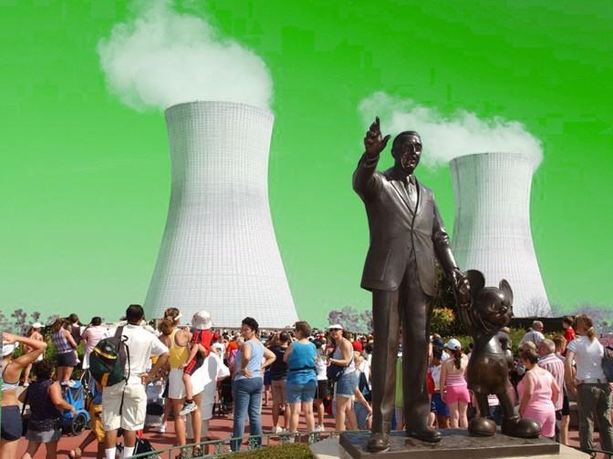 Disney World's literal nuclear option