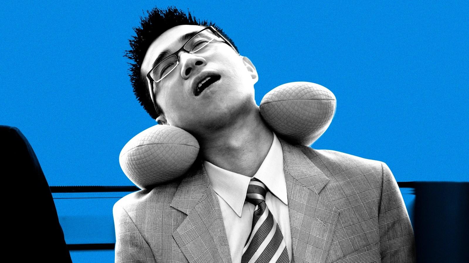 u shaped travel neck pillow is useless