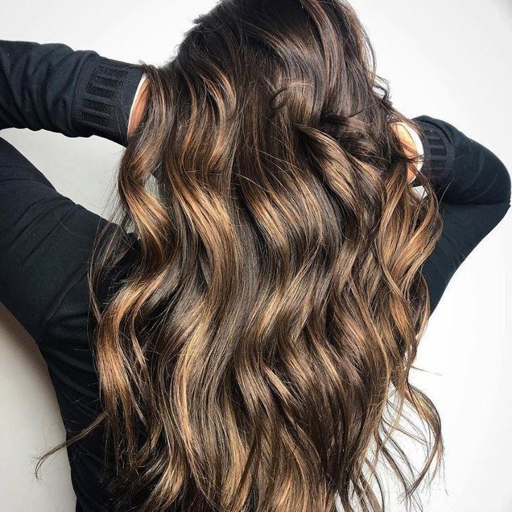 Highlights On Dark Brown Hair Pictures Makeupsite