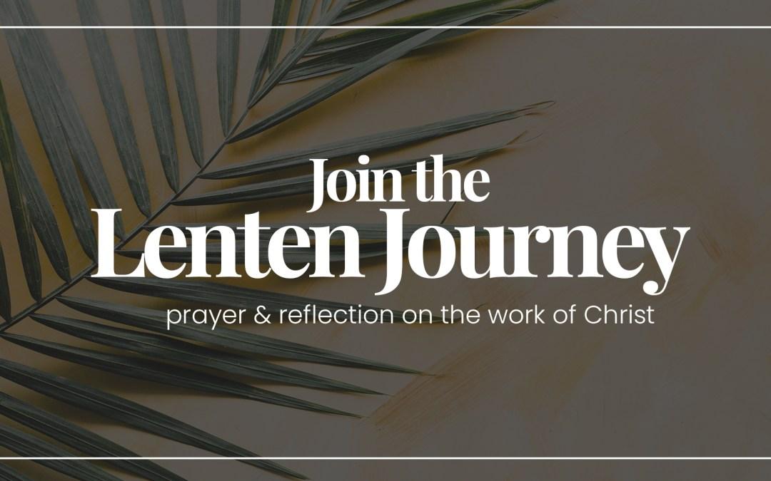 The Lenten Journey