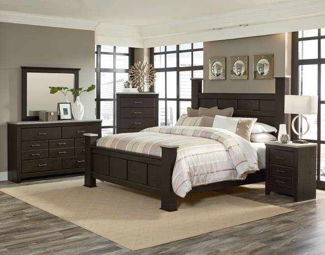 Standard Furniture Stonehill Brown 2pc Bedroom Set with ...