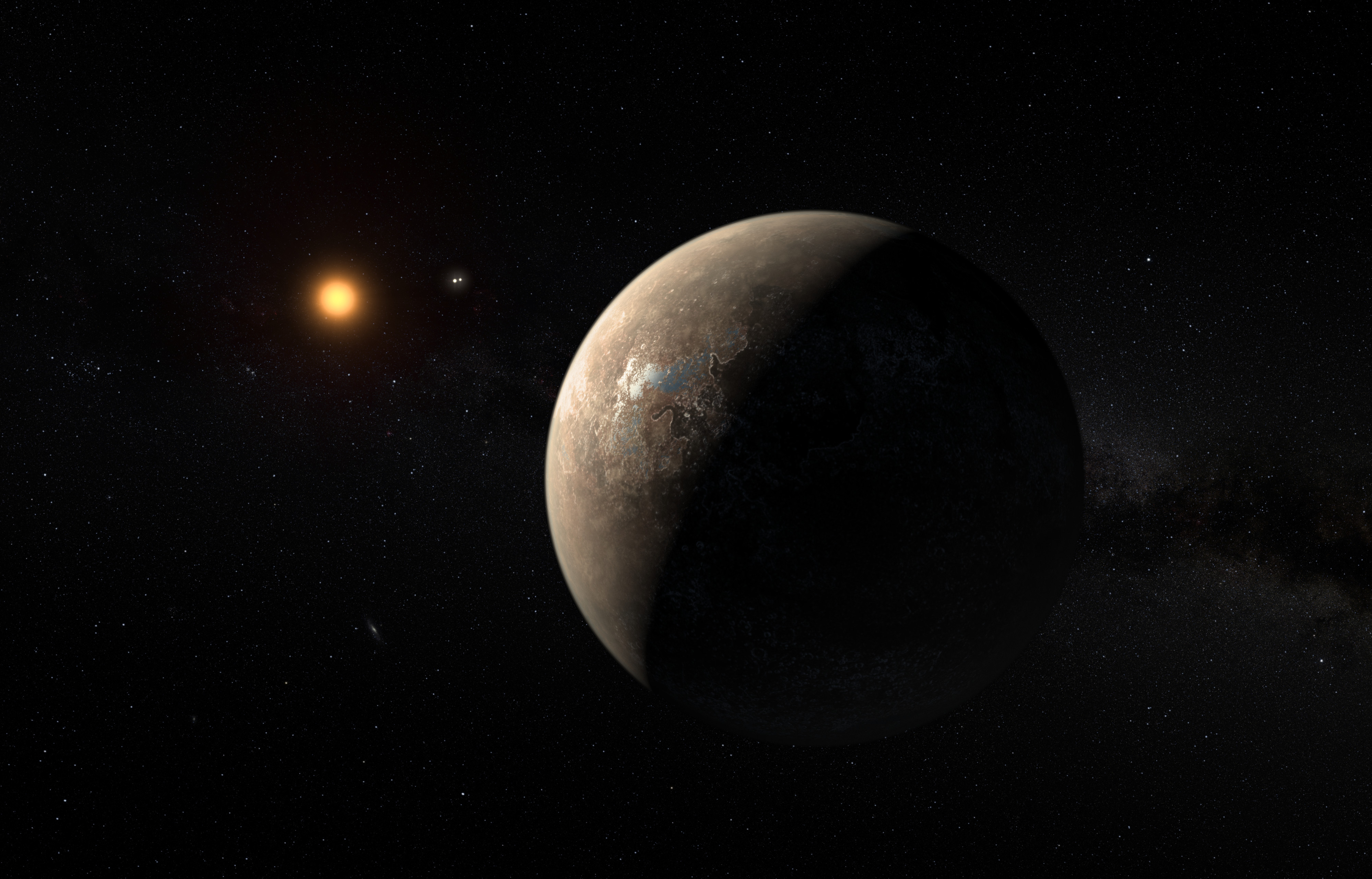 Say Hello To The Earth S Nearest Exoplanet Neighbour